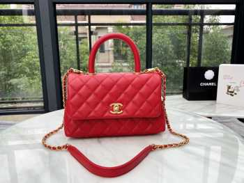 Chanel Coco Top Handle Bag 24cm