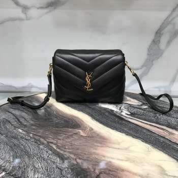 YSL MONOGRAM LOULOU Mini SIZE GOLD HARDWARE