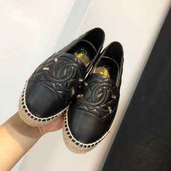 Chanel Espadrilles All Balck