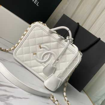 Chanel Vanity Bag in White