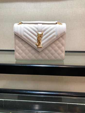 UUbags YSL ENVELOPE White MEDIUM BAG