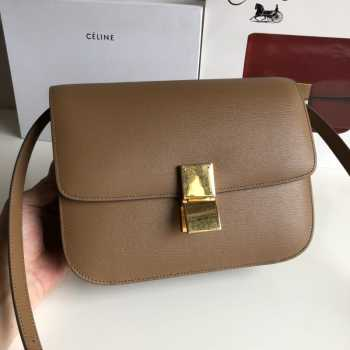 Celine Classis box Brown
