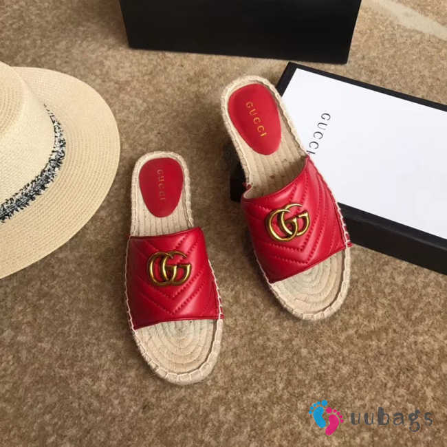 UUbags Gucci Slippers in four colours