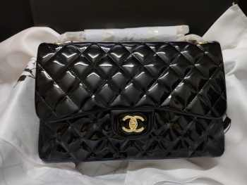 UUbags Chanel CF 30cm  Patent Leather Bag