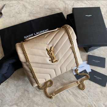 UUbags YSL LouLou Small bag in Beige
