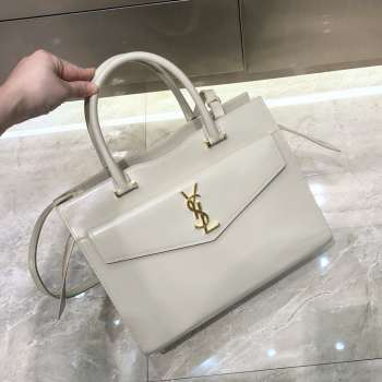 UUbags YSL Large Tote in White