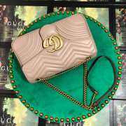 UUbags Gucci Marmont Dusty pink Large size  - 4