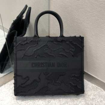 UUbags Dior Book Tote Black