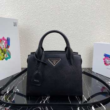 UUbags Prada Saffiano Tote in Black