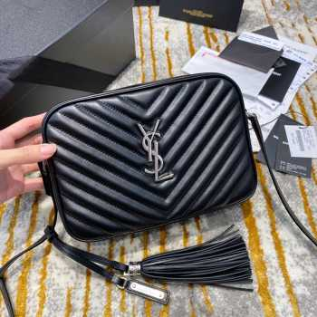 UUbags YSL Shoulder Bag Black in Silver Hardware
