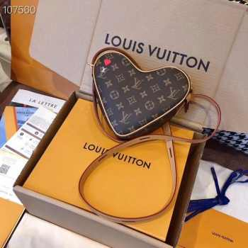 UUbags LV Heart Monogram Crossbody Logo Shoulder Bags