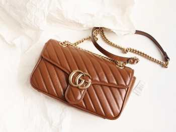 UUbags GG marmont Brown