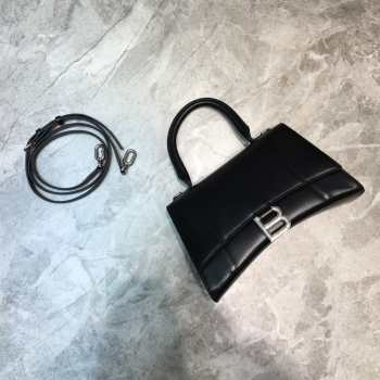 UUbags BALENCIAGA HOURGLASS SMALL TOP HANDLE BAG