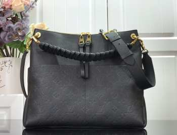 UUbags LV Maida Hobo Bag in Black