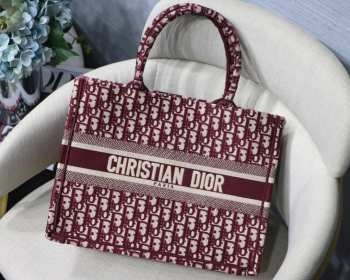 UUbags Dior Book tote red