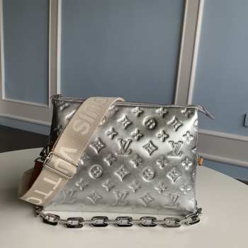 UUbags LV Coussin Small Bag in silver