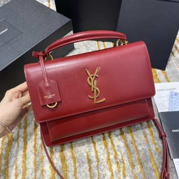 UUBags Ysl Sunset Bag in Red